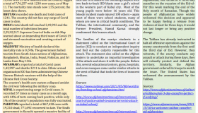 BEI Weekly News Highlights: A Brief Highlights on Contemporary Issues of South Asia, May 07, 2021-May 13, 2021